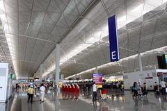 Aéroport de Hong Kong Int'l Photographie stock libre de droits