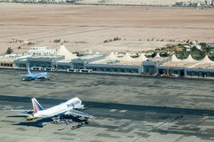 Aéroport de Hurghada Égypte Photo stock