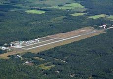 Aéroport de Huronia, antenne d'Ontario Images libres de droits