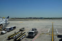 Aéroport 10 de JFK Photographie stock