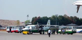 Aéroport de Katmandou Photo libre de droits