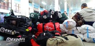 Aéroport de Katmandou photo stock