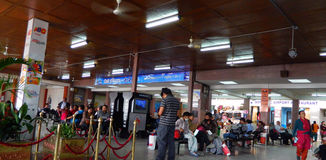 Aéroport de Katmandou Photographie stock libre de droits