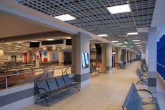 Aéroport de Katowice, Pologne Photos libres de droits
