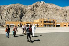 Aéroport de Khasab Photo libre de droits