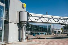 Aéroport de Kiev Boryspil Photographie stock libre de droits