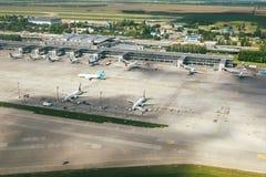 Aéroport de Kiev Boryspil Photographie stock