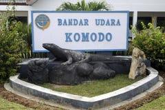 Aéroport de Komodo Photographie stock libre de droits
