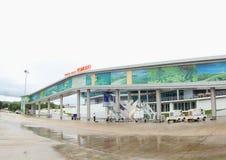 Aéroport de Komodo, Labuan Bajo Photos stock