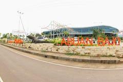Aéroport de Komodo, Labuan Bajo Image libre de droits
