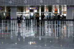 Aéroport de Kyiv, Boryspil Photos libres de droits