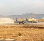 Aéroport de l'Afghanistan en décembre 2017 Photo stock