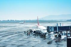 Aéroport de la Chine Changhaï Photo stock
