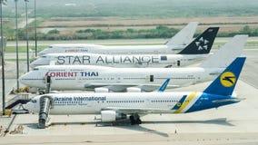 Aéroport de la Thaïlande Images libres de droits