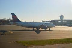 Aéroport de LaGuardia Photographie stock libre de droits