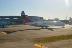 Aéroport de LaGuardia Images libres de droits