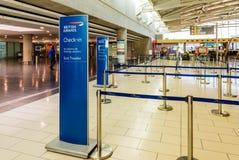Aéroport de Larnaca, Chypre photo stock