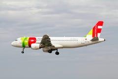 Aéroport de Lisbonne, 19 mai 2012 Photo stock