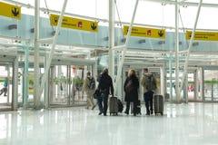 Aéroport de Lisbonne Photographie stock libre de droits