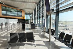 Aéroport de Londres Images libres de droits