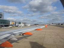 Aéroport de Londres Gatwick Le Royaume-Uni Photo libre de droits