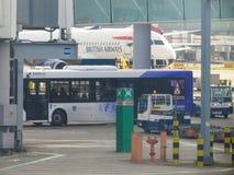 Aéroport de Londres Heathrow Photos libres de droits