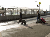 Aéroport de Londres Stansted Image stock
