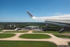 Aéroport de Londres Stansted Photos libres de droits