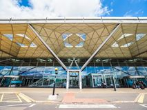 Aéroport de Londres Stansted (hdr) Photos stock