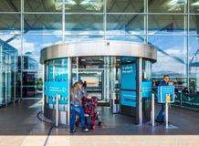 Aéroport de Londres Stansted, hdr Photos stock