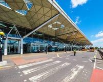 Aéroport de Londres Stansted, hdr Photographie stock libre de droits