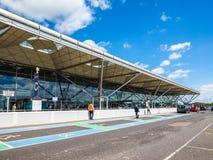 Aéroport de Londres Stansted, hdr Photographie stock