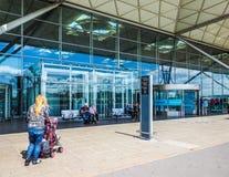 Aéroport de Londres Stansted, hdr Images libres de droits