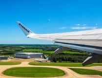 Aéroport de Londres Stansted (hdr) Photographie stock
