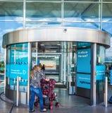 Aéroport de Londres Stansted (hdr) Photo libre de droits