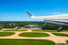 Aéroport de Londres Stansted, hdr Photo libre de droits