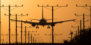 Aéroport de Los Angeles photos libres de droits