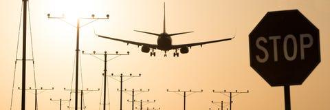 Aéroport de Los Angeles Photos stock
