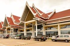 Aéroport de Luang Probang, Laos Photographie stock