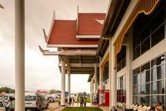 Aéroport de Luang Probang, Laos Photo libre de droits