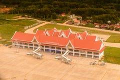 Aéroport de Luang Probang, Laos Photographie stock libre de droits
