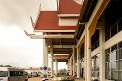 Aéroport de Luang Probang, Laos Images libres de droits