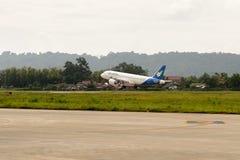 Aéroport de Luang Probang, Laos Photos libres de droits