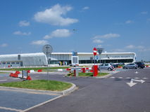 Aéroport de Lublin, Swidnik, Pologne Photos stock