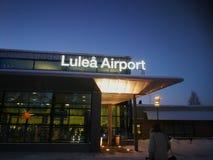 Aéroport de LuleÃ¥ Photos libres de droits