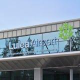 Aéroport de LuleÃ¥ Image stock