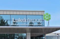Aéroport de LuleÃ¥ Images libres de droits