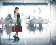 Aéroport de luxe Photos stock