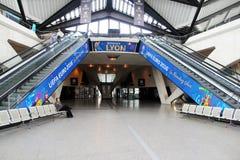 Aéroport de Lyon Image libre de droits