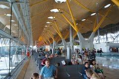 Aéroport de Madrid Barajas Photo libre de droits